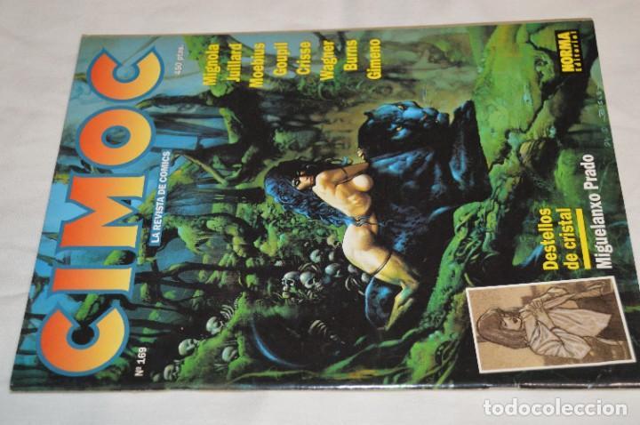 Cómics: CIMOC -- Lote de 12 Ejemplares / Revistas Comics - Años 80 / 90 - ¡Mira fotos y detalles! - Foto 14 - 281935498