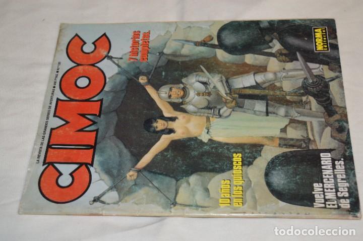 Cómics: CIMOC -- Lote de 12 Ejemplares / Revistas Comics - Años 80 / 90 - ¡Mira fotos y detalles! - Foto 18 - 281935498