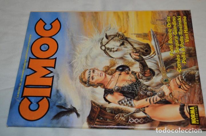 Cómics: CIMOC -- Lote de 12 Ejemplares / Revistas Comics - Años 80 / 90 - ¡Mira fotos y detalles! - Foto 22 - 281935498