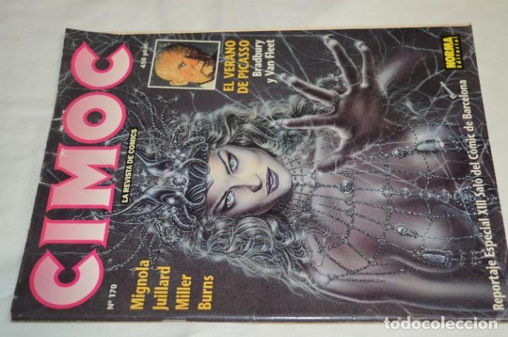 Cómics: CIMOC -- Lote de 12 Ejemplares / Revistas Comics - Años 80 / 90 - ¡Mira fotos y detalles! - Foto 24 - 281935498