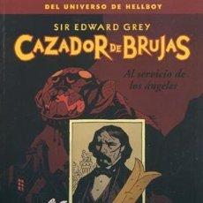 Cómics: CAZADOR DE BRUJAS 1 2 3 4 5 6 - NORMA / DARK HORSE / RÚSTICA / MIKE MIGNOLA / UNIVERSO HELLBOY. Lote 282869968