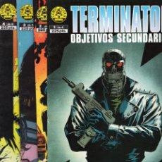 Comics: TERMINATOR OBJETIVOS SECUNDARIOS COMPLETA 1 A 4 - NORMA - BUEN ESTADO. Lote 282884988