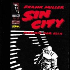 Cómics: SIN CITY - MORIRIA POR ELLA - Nº 1 DE 6 - FRANK MILLER - NORMA -. Lote 283225028