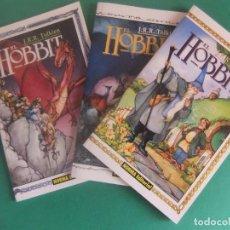Cómics: EL HOBBIT TRES NUMEROS COMPLETA NORMA EDITORIAL. Lote 283689053