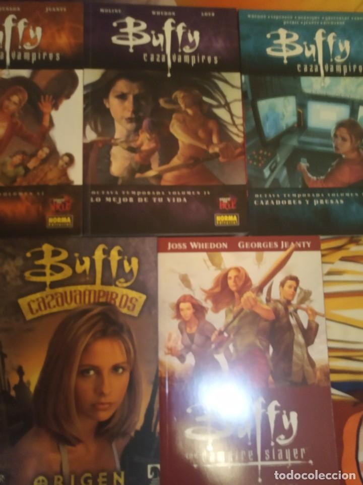 Cómics: Colección 18 tomos Buffy en perfecto estado. - Foto 3 - 284576213