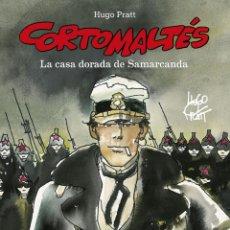 Cómics: CÓMICS. CORTO MALTÉS 08. LA CASA DORADA DE SAMARCANDA - HUGO PRATT (CARTONÉ). Lote 284705628