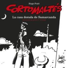 Cómics: CÓMICS. CORTO MALTÉS 08. LA CASA DORADA DE SAMARCANDA - HUGO PRATT B/N (CARTONÉ). Lote 284706713