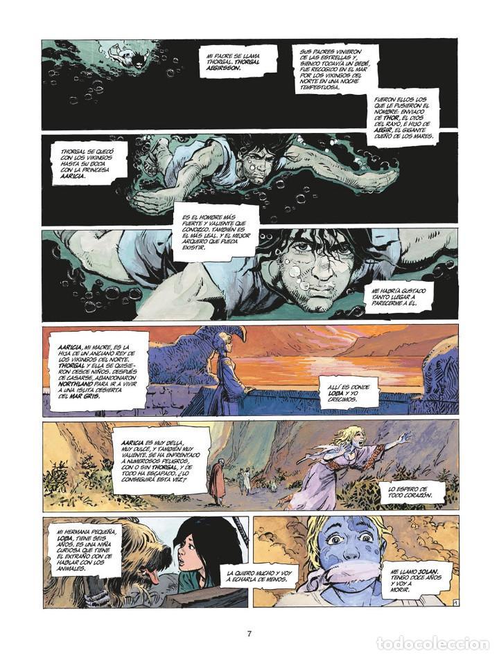Cómics: Cómics. THORGAL INTEGRAL 7 - Van Hamme / Grzegorz Rosinski (Cartoné) - Foto 2 - 284707808
