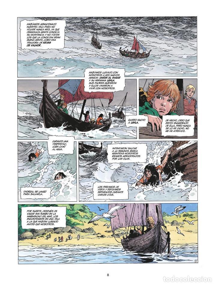 Cómics: Cómics. THORGAL INTEGRAL 7 - Van Hamme / Grzegorz Rosinski (Cartoné) - Foto 3 - 284707808