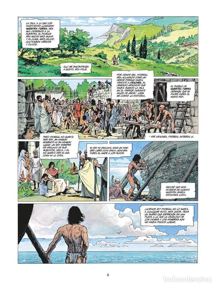Cómics: Cómics. THORGAL INTEGRAL 7 - Van Hamme / Grzegorz Rosinski (Cartoné) - Foto 4 - 284707808