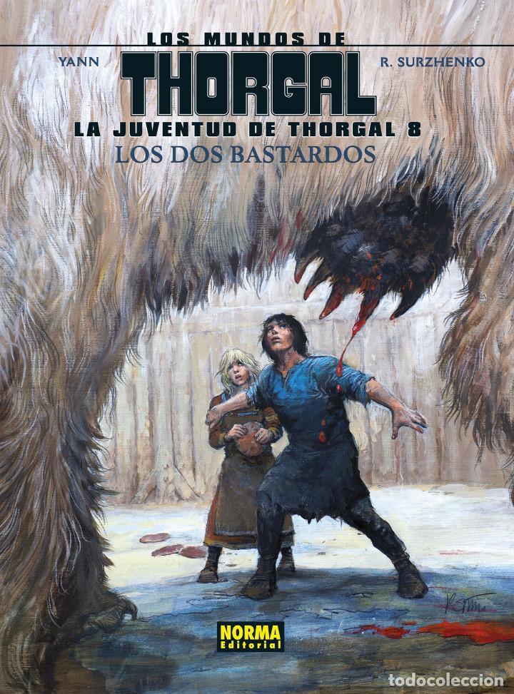 CÓMICS. LA JUVENTUD DE THORGAL 8. LOS DOS BASTARDOS - YANN / SURZHENKO (CARTONÉ) (Tebeos y Comics - Norma - Comic Europeo)