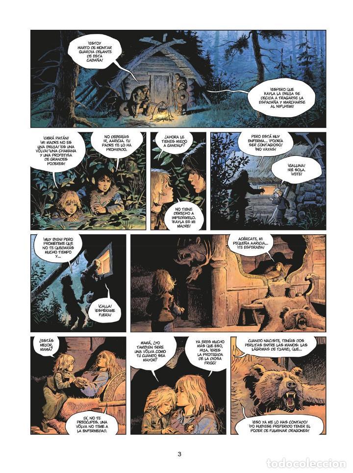 Cómics: Cómics. LA JUVENTUD DE THORGAL 8. LOS DOS BASTARDOS - Yann / Surzhenko (Cartoné) - Foto 2 - 284719048