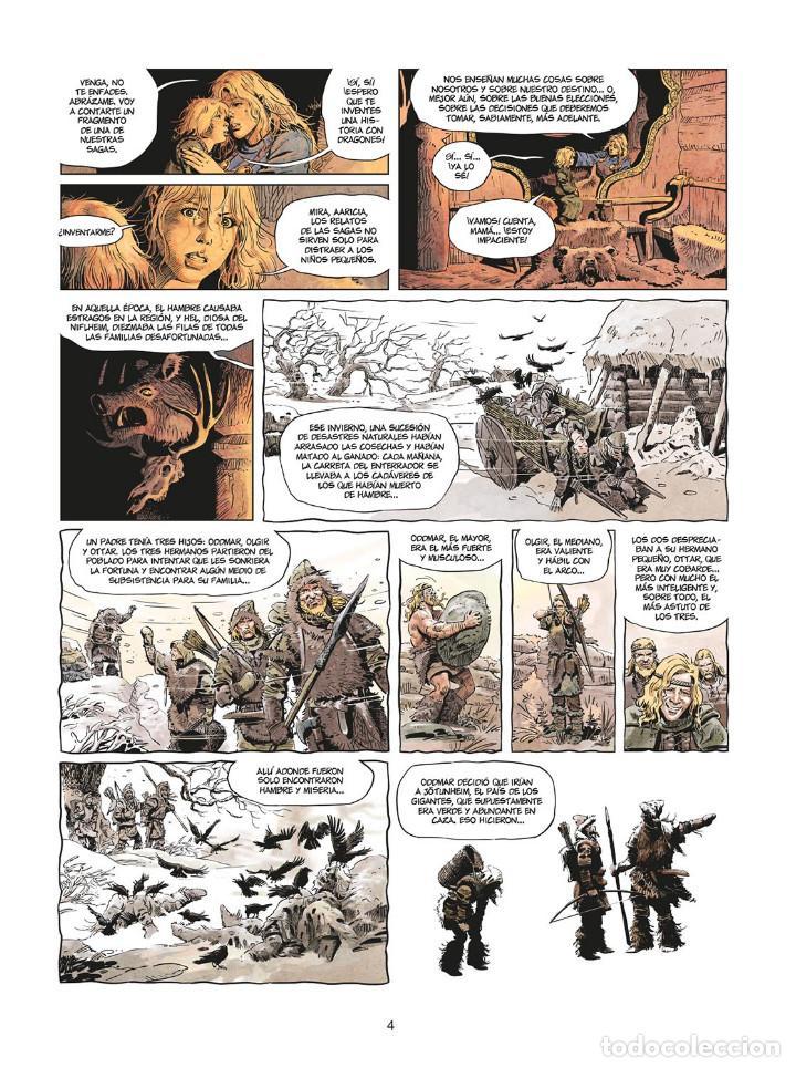Cómics: Cómics. LA JUVENTUD DE THORGAL 8. LOS DOS BASTARDOS - Yann / Surzhenko (Cartoné) - Foto 3 - 284719048