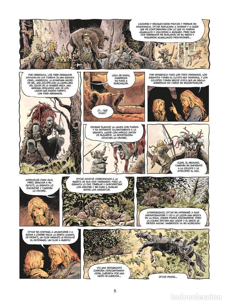 Cómics: Cómics. LA JUVENTUD DE THORGAL 8. LOS DOS BASTARDOS - Yann / Surzhenko (Cartoné) - Foto 4 - 284719048