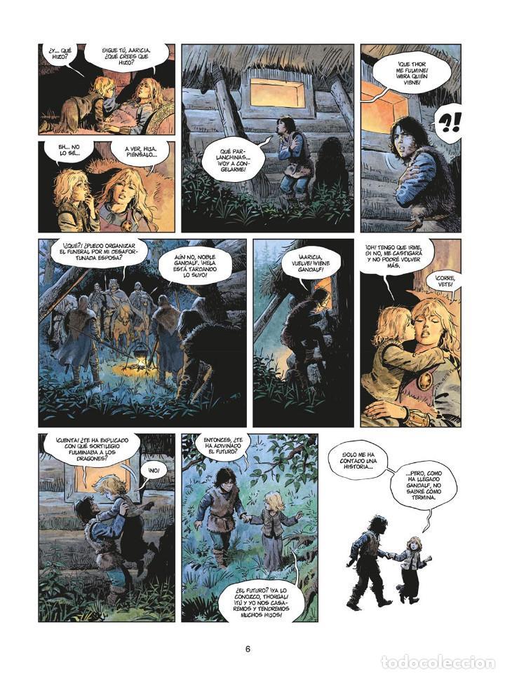 Cómics: Cómics. LA JUVENTUD DE THORGAL 8. LOS DOS BASTARDOS - Yann / Surzhenko (Cartoné) - Foto 5 - 284719048