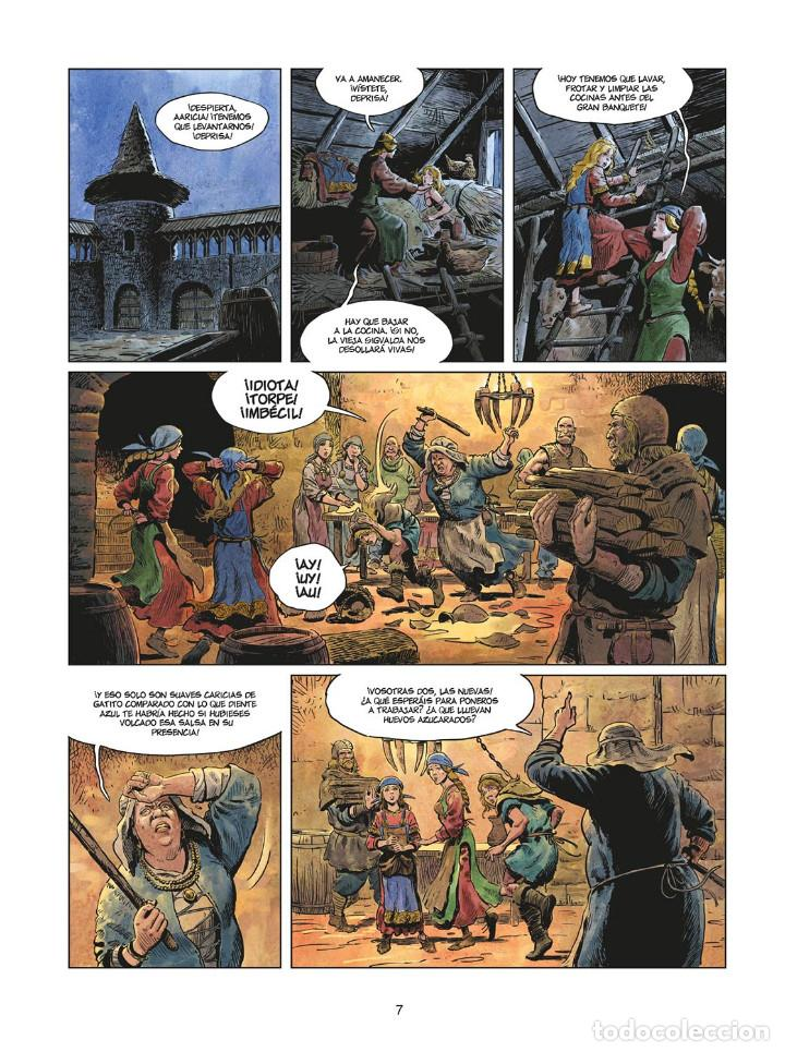 Cómics: Cómics. LA JUVENTUD DE THORGAL 8. LOS DOS BASTARDOS - Yann / Surzhenko (Cartoné) - Foto 6 - 284719048