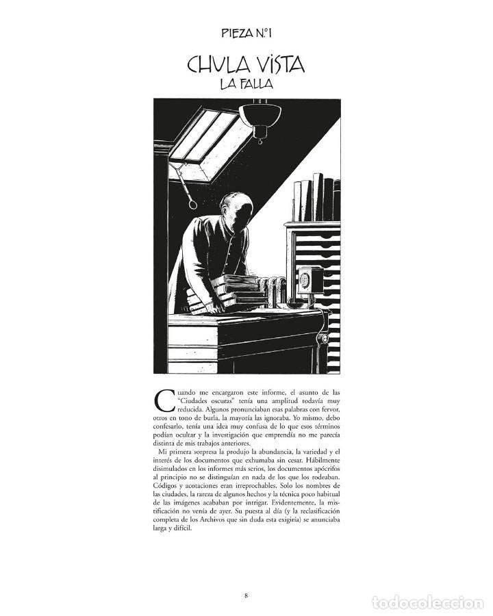 Cómics: Cómics. LAS CIUDADES OSCURAS. EL ARCHIVISTA - François Schuiten / Benoit Peeters - Foto 4 - 284720173