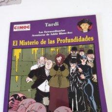 Comics: CIMOC N°. 157 LAS EXTRAORDINARIAS AVENTURAS DE ADÈLE BLANC-SEC. EL MISTERIO LAS PROFUNDIDADES. TARDI. Lote 285423623