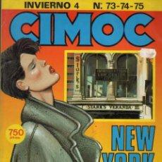 Cómics: CIMOC INVIERNO Nº 4 (RETAPADO CON LOS NUMEROS 73 A 75) NORMA - BUEN ESTADO - SUB03M. Lote 285439823