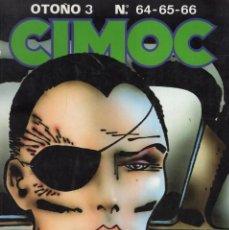 Cómics: CIMOC OTOÑO Nº 3 (RETAPADO CON LOS NUMEROS 64 A 66) NORMA - BUEN ESTADO - SUB03M. Lote 285440328