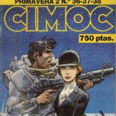 Cómics: CIMOC PRIMAVERA Nº 2 (RETAPADO CON LOS NUMEROS 36 A 38) NORMA - SUB03M. Lote 285442018