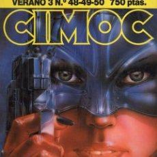 Cómics: CIMOC VERANO Nº 3 (RETAPADO CON LOS NUMEROS 48 A 50) NORMA - BUEN ESTADO - SUB03M. Lote 285442218