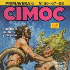 Cómics: CIMOC PRIMAVERA Nº 6 (RETAPADO CON LOS NUMEROS 66 A 68) NORMA - BUEN ESTADO - SUB03M. Lote 285442418
