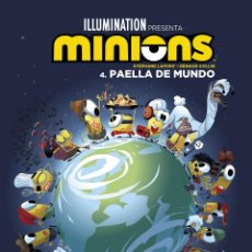 Cómics: CÓMICS. MINIONS 4. PAELLA DE MUNDO - LAPUSS / RENAUD COLLIN (CARTONÉ). Lote 285562728