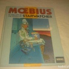 Cómics: MOEBIUS , STARWATCHER , EL VIGILANTE DE LAS ESTRELLAS. ED NORMA. TAPA DURA.. Lote 285809223
