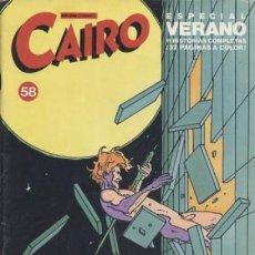 Fumetti: CAIRO Nº 58. Lote 286248528
