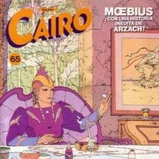 Cómics: CAIRO Nº 65. Lote 286248768