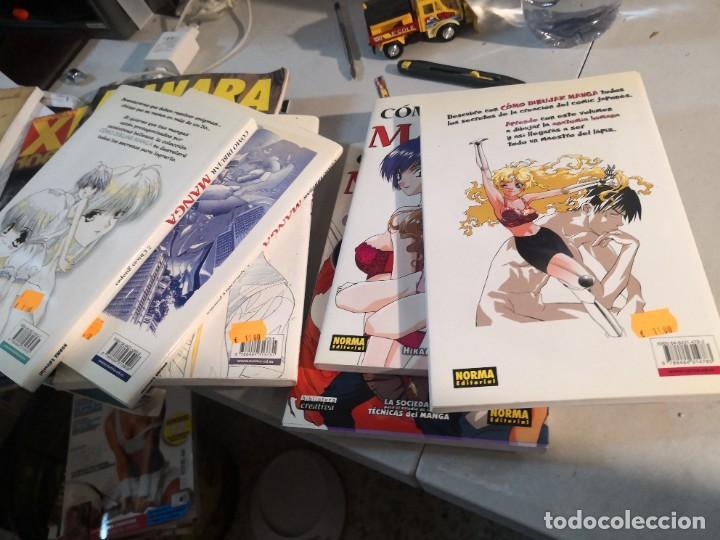 Cómics: 7 tomos colección como dibujar Manga. Norma editorial - Foto 4 - 286322343