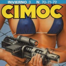 Cómics: CIMOC RETAPADO INVIERNO Nº 3 (CONTIENE LOS NUMEROS 70 A 72) NORMA - BUEN ESTADO - SUB03M. Lote 286593963
