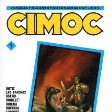 Cómics: CIMOC Nº 1 (RETAPADO EN CARTONE CON LOS NUMEROS 9, 10 Y 11 DE CIMOC) NORMA - SUB03M. Lote 286593998