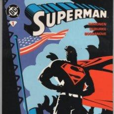 Cómics: SUPERMAN Nº 1 - NORMA - ESTADO EXCELENTE - SUB03M. Lote 286601358