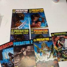 Comics : LOTE DE 8 EJEMPLARES DE PREDATOR GUERRA FRÍA. NORMA EDITORIAL.AÑOS 90.. Lote 286615638