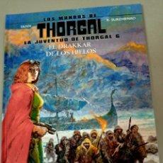 Comics: X LOS MUNDOS DE THORGAL. LA JUVENTUD 6. EL DRAKKAR DE LOS HIELOS, DE YANN Y SURZHENKO (NORMA). Lote 286788168