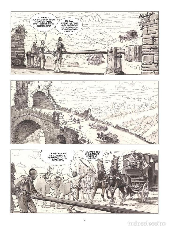 Cómics: Cómics. CARAVAGGIO. EDICIÓN INTEGRAL EN BLANCO Y NEGRO - Milo Manara (Cartoné) - Foto 3 - 287078248