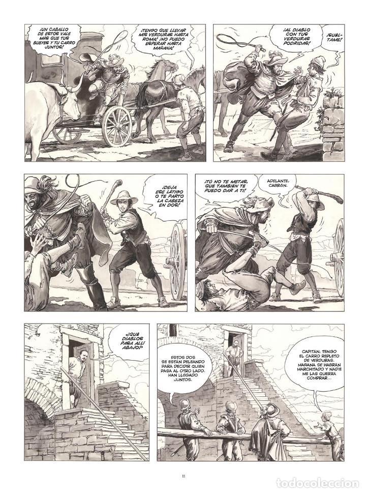 Cómics: Cómics. CARAVAGGIO. EDICIÓN INTEGRAL EN BLANCO Y NEGRO - Milo Manara (Cartoné) - Foto 4 - 287078248