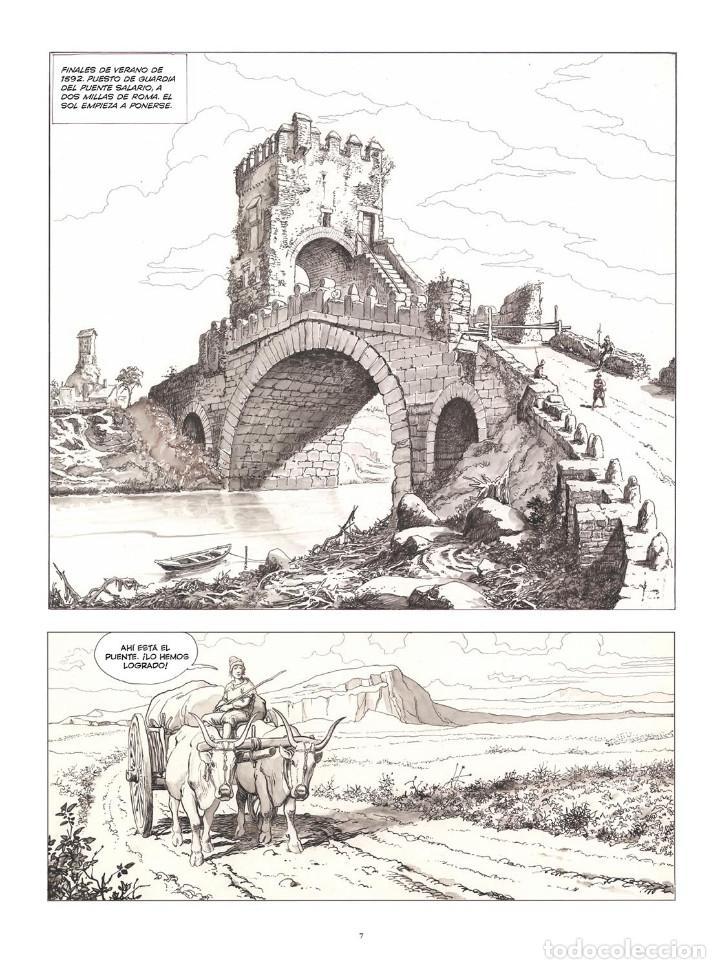 Cómics: Cómics. CARAVAGGIO. EDICIÓN INTEGRAL EN BLANCO Y NEGRO - Milo Manara (Cartoné) - Foto 5 - 287078248