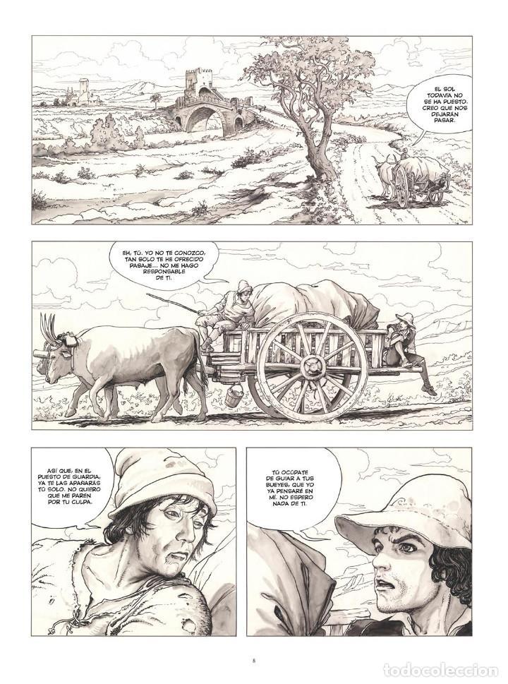 Cómics: Cómics. CARAVAGGIO. EDICIÓN INTEGRAL EN BLANCO Y NEGRO - Milo Manara (Cartoné) - Foto 6 - 287078248