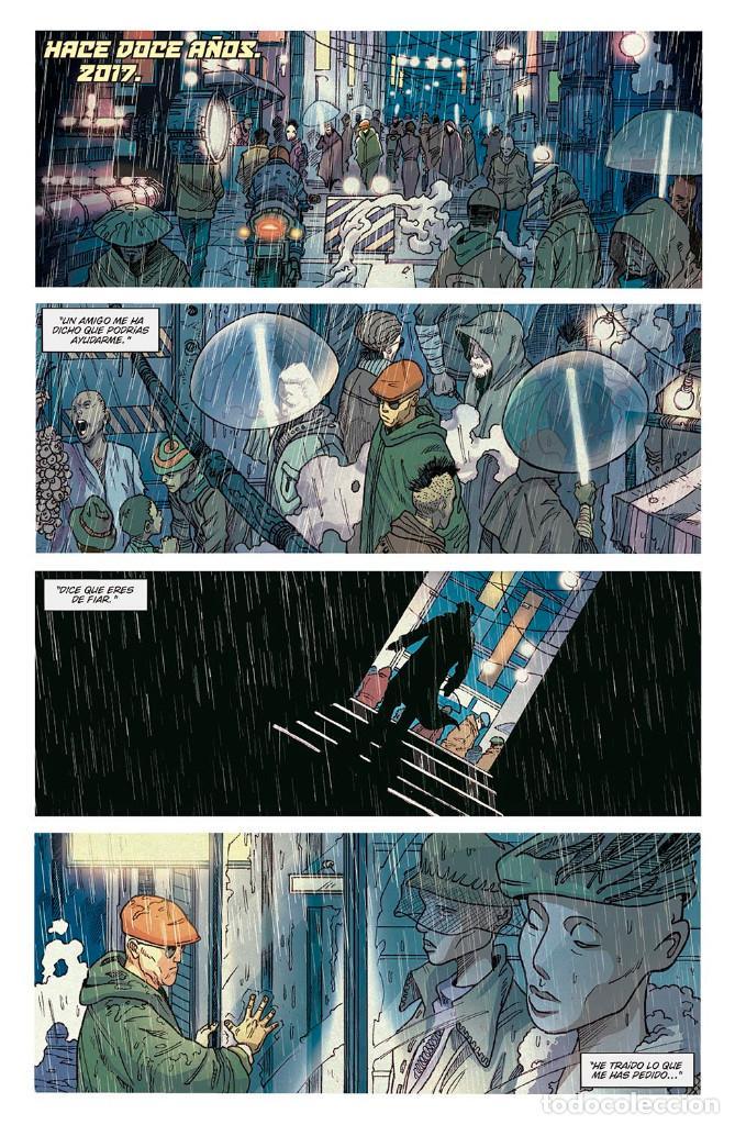 Cómics: Cómics. BLADE RUNNER 2029 1. REENCUENTRO - Mike Johnson / Andrés Guinaldo / Marco Lesko (Cartoné) - Foto 2 - 287166413