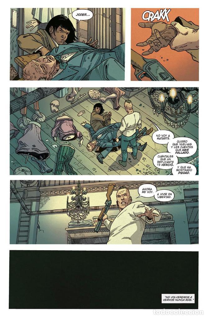 Cómics: Cómics. BLADE RUNNER 2029 1. REENCUENTRO - Mike Johnson / Andrés Guinaldo / Marco Lesko (Cartoné) - Foto 6 - 287166413