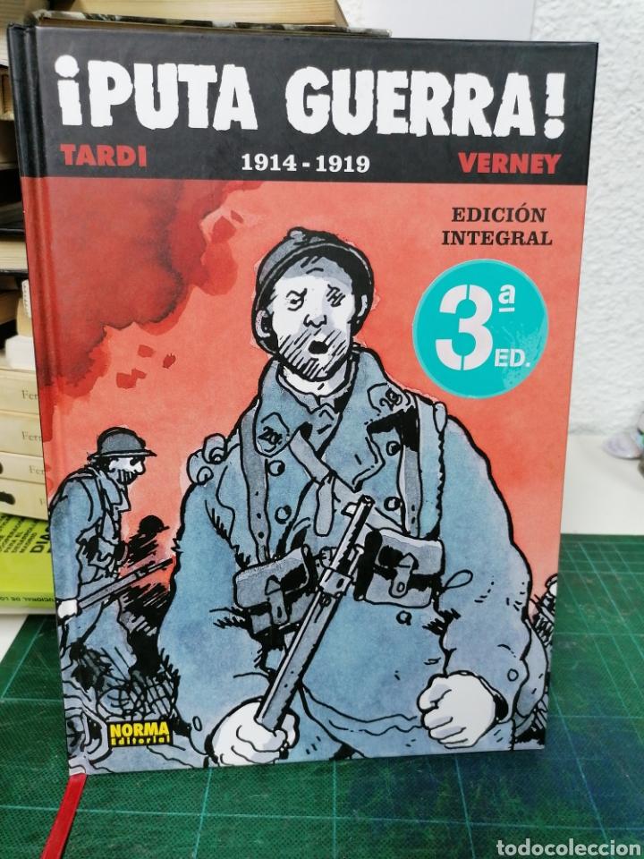 ¡PUTS GUERRA!. 1914-1919. TARDI VERNEY (Tebeos y Comics - Norma - Otros)
