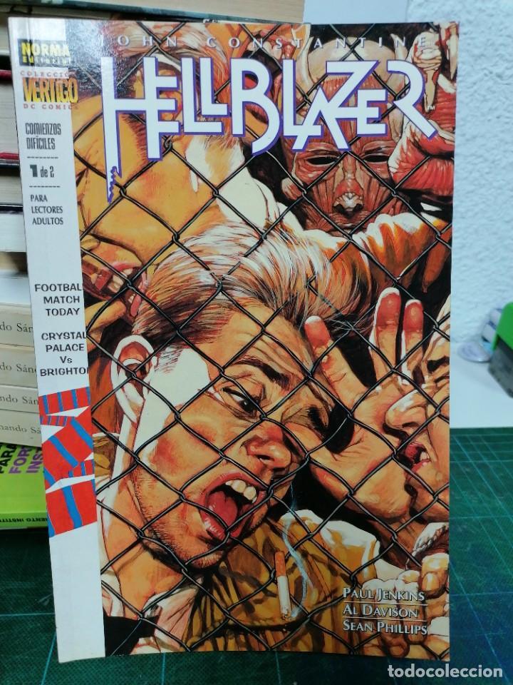 HELLBLAZER. 152. COMIENZOS DIFÍCILES 1 DE 2 (Tebeos y Comics - Norma - Comic USA)