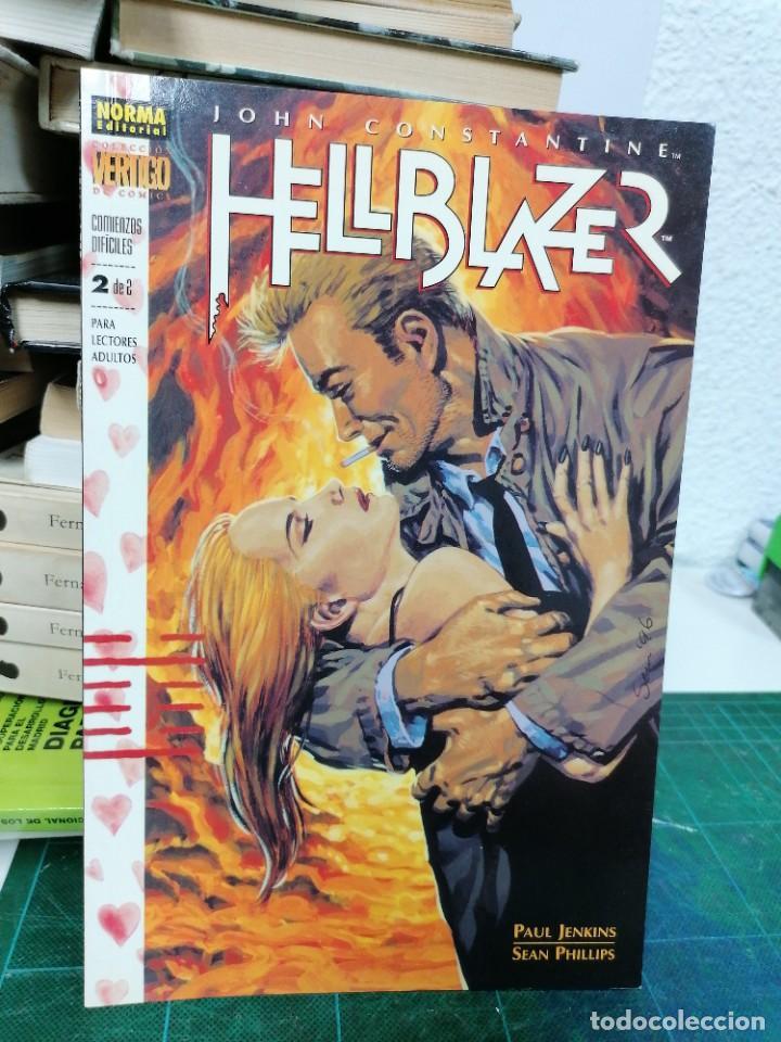 HELLBLAZER. 155. COMIENZOS DIFÍCILES. 2 DE 2 (Tebeos y Comics - Norma - Comic USA)
