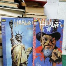 Cómics: HELLBLAZER. 70 Y 72. LLAMAS DE CONDENA 1 Y 2. Lote 287212263