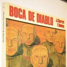 Cómics: BOCA DE DIABLO - J.CHARYN Y F.BOUCQ - ILUSTRADO. Lote 287230403