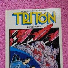 Cómics: TRITÓN LAS AVENTURAS SIDERALES DE ROCO VARGAS EDITORIAL NORMA 1984 LOS ÁLBUMES DE CAIRO 4 1ª EDICIÓN. Lote 287261113