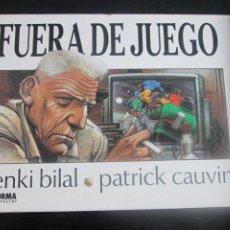 Cómics: FUERA DE JUEGO--ENKI BILAL. Lote 287459523